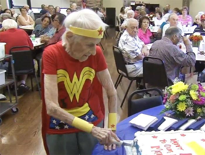 103 year old wonder woman